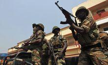 Zentralafrika Rebellen erobern Praesidentenpalast