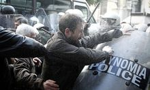GREECE ECONOMIC CRISIS PAME PROTEST