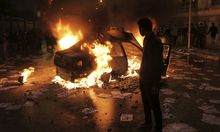 Zusammenstöße in Alexandria