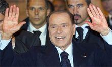 Berlusconi Verlasse politische Szene