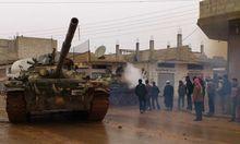 Syrien Islamisten bedrohen Christen
