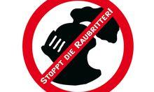 Stoppt Raubritter FPoe attackiert
