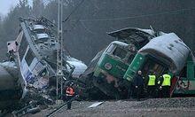 POLAND SZCZEKOCINY TRAINS CRASH