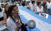 Argentinien: Zehntausende protestieren gegen Kirchner