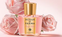 """Späte Blüte. """"Rosa Nobile"""" von Acqua di Parma, 50ml Eau de Parfum um 92 Euro. / Bild: (c) Beigestellt"""
