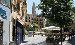 Plaça de Cort in Palma