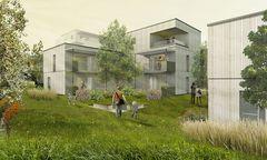 Visualisierung sps Architekten ZT Wildgarten Bauplatz 7