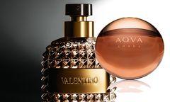 """Valentino Uomo"" von Valentino, 50 ml Eau de Toilette um 60 Euro. ""Aqua Amara"" von Bulgari, 50 ml Eau de Toilette um 70 Euro. / Bild: (c) Beigestellt"