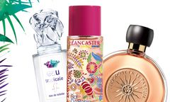"Le Parfum Terracotta"" von Guerlain  (64 Euro), ""Eau  tropicale"" von Sisley (76Euro) und Sol da Bahia – Eau d'été"" von Lancaster (45 Euro) / Bild: (c) Beigestellt"