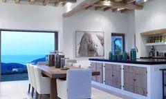 Can Trull auf Ibiza: Design mit Blick aufs Meer.