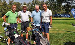 Gute Laune herrschte bei der Golf Charity Trophy.