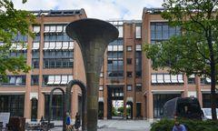 GEMA Munich offices Erich Schulze Fountain Gesellschaft f�r musikalische Auff�hrungs und mechanische