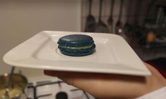 Das Endprodukt: Ein schöner Macaron / Bild: Christina Lechner