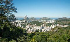 Ausblick auf Rio de Janeiro.