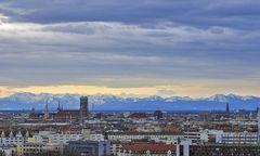 Symbolbild, Blick über München
