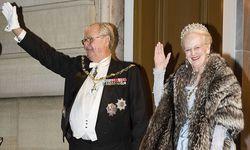 Kein Königspaar: Prinz Henrik und Königin Margrethe von Dänemark beim Neujahrsbankett 2016 in Kopenhagen / Bild: (c) REUTERS (Scanpix Denmark)