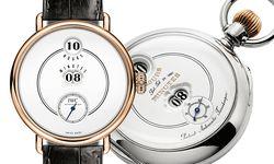 """Mit der """"Pallweber Edition 150 Years"""" lässt IWC eines der legendärsten historischen Modelle des Unternehmens als Armbanduhr wieder aufleben. / Bild: (c) Beigestellt"""