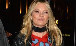 Kate Moss is pictured leaving the launch of Coach House Regent Street in London The 42 year old su / Bild: (c) imago/Matrix (imago stock&people)
