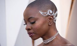 Danai Gurira arrives on the red carpet of The 90th Oscars® at the Dolby® Theatre in Hollywood CA / Bild: (c) imago/Picturelux (Phil McCarten)