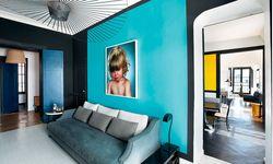 Ein Kokon mit Farben ist für die  Designerin das ideale Zuhause. / Bild: (c) Beigestellt