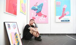 Boicut in seinem Atelier in der Piaristengasse im achten Bezirk. / Bild: (c) Stanislav Jenis
