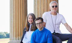 Ann-Sofie Johansson (H&M), Erdem Moralioğlu und Baz Luhrmann. / Bild: H&M