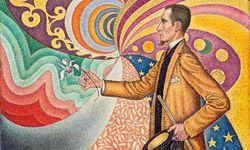 Paul Signac. Porträt des M. Félix Féneon, 1890, gestiftet 1991 von den Rockefellers. / Bild: (c) Fondation Louis Vuitton