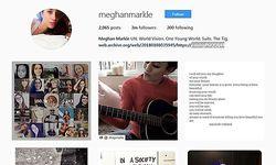 Es war ein Mal: Webarchiv-Screenshot von Meghan Markles Instagram-Seite / Bild: Screenshot (web.archive.org, instagram.com)