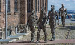 Helsingör, einst eine Stadt des Schiffbaus, setzte den Werftarbeitern ein Denkmal.  / Bild: Imago