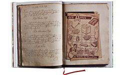 Objekt. Das Layout betont die Objekthaftigkeit der alten Bücher.  / Bild: (c) Hans Hansen