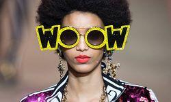 Model presents a creation from the Gucci Autumn/Winter 2018 women collection during Milan Fashion Week in Milan / Bild: (c) imago/Xinhua (Jin Yu)