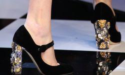 Schuh-Werk. Gepflegter Fuß in schönem Schuh, hier von Dolce & Gabbana. / Bild: (c) Dolce &Gabbana