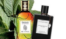 """Aufgeblättert. """"Patchouly"""" von Etro, 100ml Eau de Parfum um 130 Euro. """"Moonlight Patchouli"""" von Van Cleef & Arpels, 75ml Eau de Parfum um 130 Euro. / Bild: (c) Beigestellt"""
