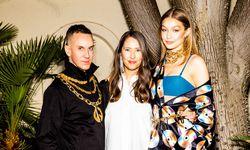 v.l.n.r. Jeremy Scott, Ann-Sofie Johansson, Gigi Hadid / Bild: RONY ALWIN