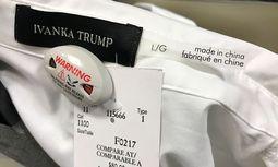 Etikettenschwindel: Ivanka-Trump-Stücke wurden mit falschem Label versehen. / Bild: (c) REUTERS (Chris Helgren)