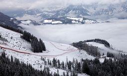 Die berühmte Streif im Nebel / Bild: Reuters