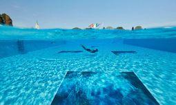 Art-lantis von Marco Rizzo im Pool des Hotels Cipriani.  / Bild: Marco Rizzo