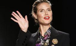 Heidi Klums Sendung hat auch viele Kritiker.  / Bild: (c) REUTERS (CARLO ALLEGRI)