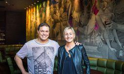 Monika Wlaschek und Werner Helnwein  / Bild: Akos Burg