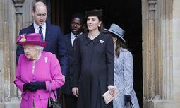 Das dritte Kind von Herzogin Kate und Prinz William kann jederzeit kommen.  / Bild: (c) Reuters