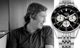 """Am 5. September jährt sich zum 47. Mal der Todestag von Formel 1-Weltmeister Jochen Rindt. TAG Heuer hat  die Autavia """"Rindt"""" als Re-Edition neu aufgelegt. / Bild: (c) Beigestellt"""