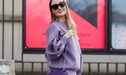 Blogger Sandra Kleine Staarman arriving at the Ann Demeulemeester runway show during Paris Fashion W / Bild: (c) imago/Runway Manhattan (Grace Lunn)