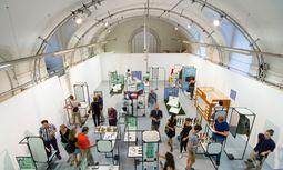 Ausstellung. Im Designforum im Wiener Museumsquartier clustern sich die Exportideen.  / Bild: (c) Beigestellt