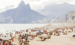 Rio de Janeiro Ipanema Strand Brasilien Copyright xKTHx ALLBR843090 / Bild: (c) imago/allOver (KTH)