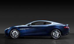 """Dieser Aston Martin """"Vanquish"""" trägt die Nummer """"0074"""" / Bild: Reuters"""