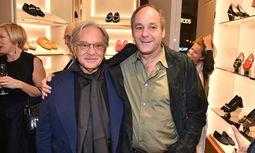Tod's-CEO Diego Della Valle (l.) und Ex-Rennfahrer Gerhard Berger.  / Bild: (c) Tod´s