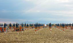 Am Strand von Bibione / Bild: Clemens Fabry