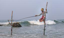 Stelzenfischer von Weligama / Bild: Imago