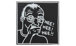 "Subversiv. ""Ohne Titel"" (Selbstporträt), 1985. / Bild: Keith Haring"