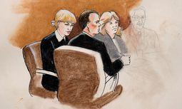 Gerichtszeichnung von Taylor Swift / Bild: REUTERS